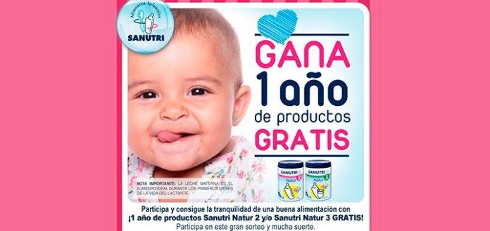 Gana un año de productos gratis con Sanutri