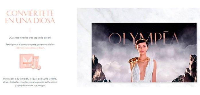 Consigue un Olympéa Beauty Box