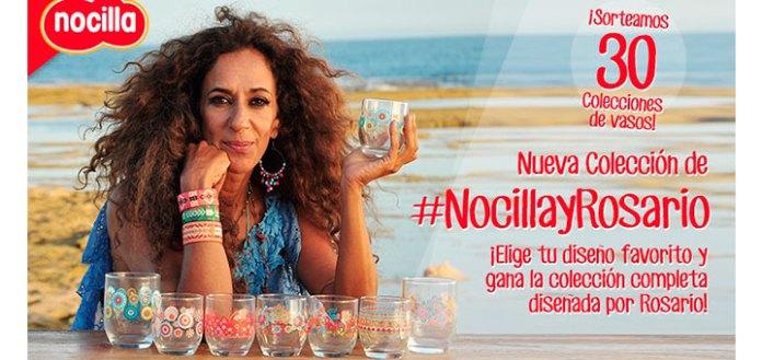 Nocilla sortea 30 colecciones de vasos de Nocilla y Rosario