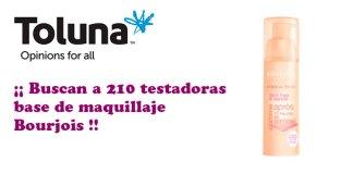 Prueba gratis la base de maquillaje Bourjois con Toluna