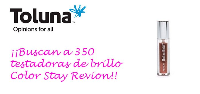 Prueba gratis brillo Color Stay Revion con Toluna