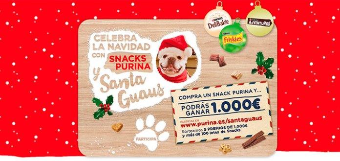 Purina sortea 5 premios de 1000 euros y Snacks