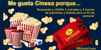 Cinesa sortea entradas de cine y menús