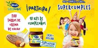 Prueba gratis la crema de cacao Hero SuperNanos
