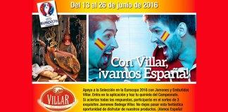 Sortean 3 Jamones Bodega Villar