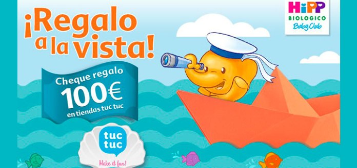 Gana 100€ en ropa para tu bebé con HiPP y tuctuc