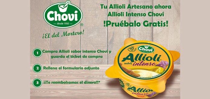 Prueba gratis Allioli Intenso Choví