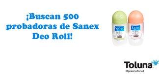 Buscan probadoras de Sanex Deo Roll