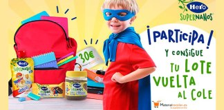 Hero Supernanos sortea 5 lotes de material escolar