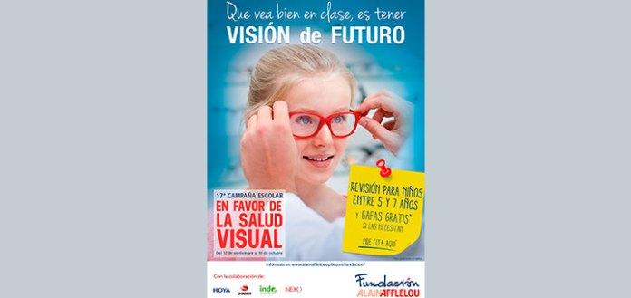 Vuelve la campaña escolar de Alain Afflelou