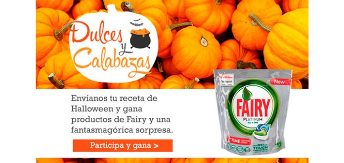 Gana productos Fairy en Halloween