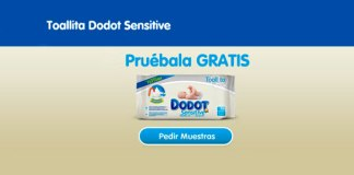 Muestras gratis de Dodot Sensitive