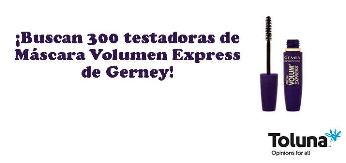 Prueba gratis Máscara Volumen Express de Gerney