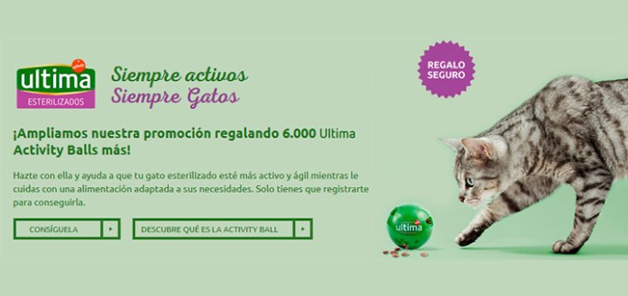 Regalan 6.000 Ultima Activity Balls