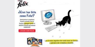 Consigue gratis el nuevo Felix Sensations Crunchy