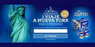 Danone sortea 1 viaje a Nueva York
