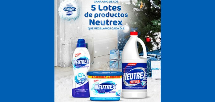 Regalan 5 lotes de productos Neutrex al día