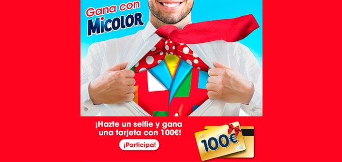 Gana una tarjeta de 100€ con Micolor