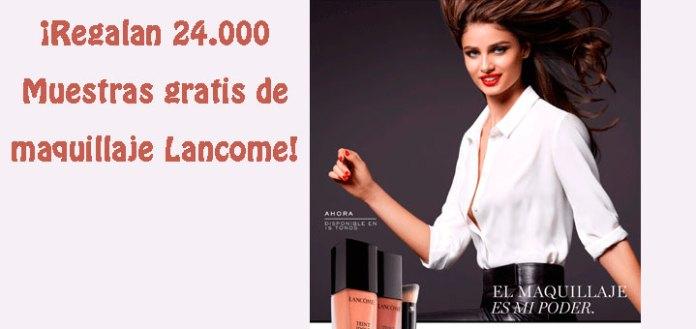 Muestras gratis de maquillaje Lancome