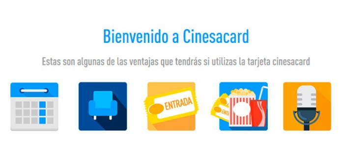Ventajas con Cinesacard