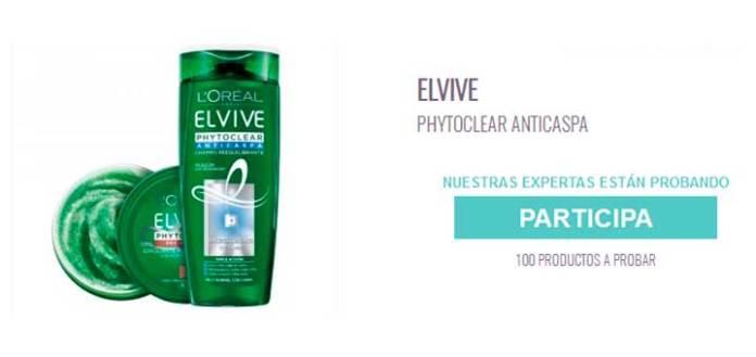Buscan 100 testadoras de Elvive Phytoclear
