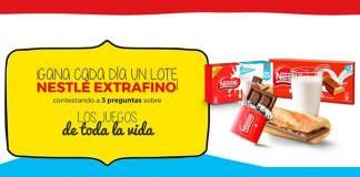 Gana cada día un lote Nestlé Extrafino