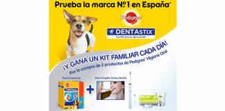 Gana un kit familiar Dentastix cada día