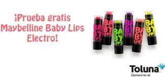Prueba gratis Maybelline Baby Lips Electro