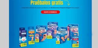Prueba gratis productos Urgo