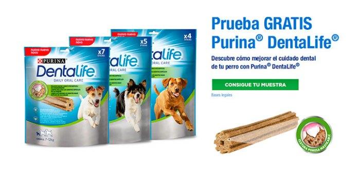 Regalan muestras gratis de Purina DentaLife