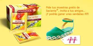 Pompadour regala 10.000 muestras gratis de Saciante