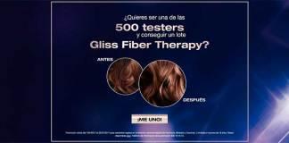 Buscan 500 testers de Gliss Fiber Therapy