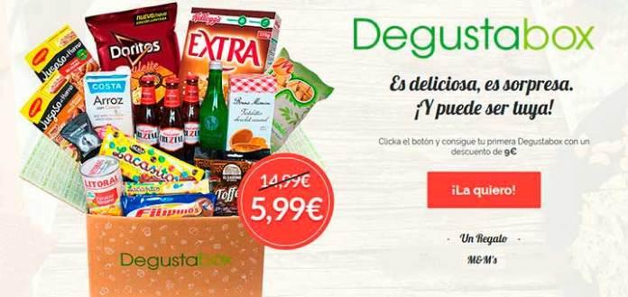 Degustabox a 5.99€ en Mayo 17