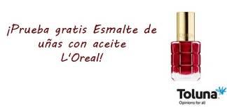 Prueba gratis Esmalte de uñas con aceite L'Oreal