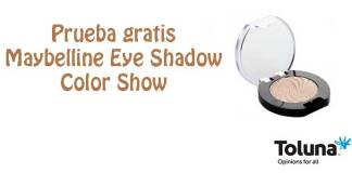 Prueba gratis Maybelline Eye Shadow Color Show