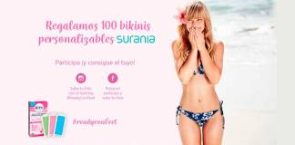 Veet sortea 100 bikinis personalizables Surania
