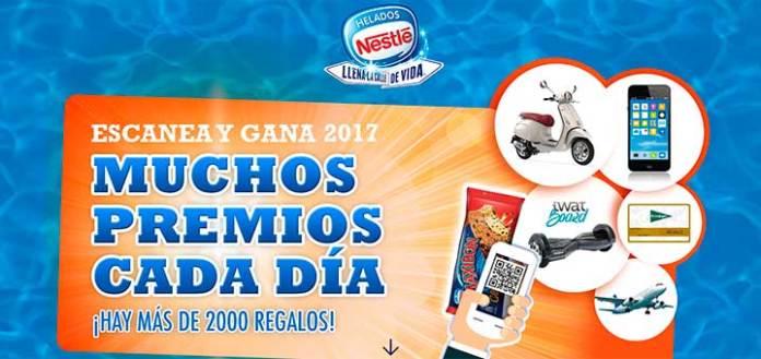 Gana premios al día con Helados Nestlé
