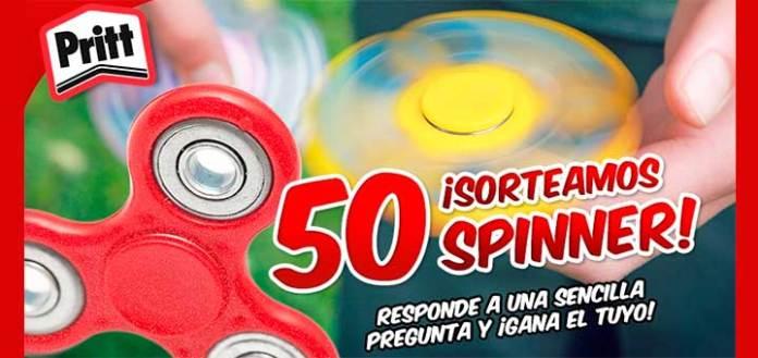 Pritt sortea 50 Fidget Spinner
