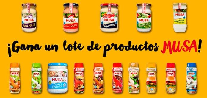 Gana un lote de productos Musa