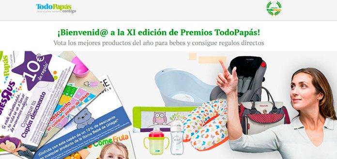 XI edición de premios TodoPapás