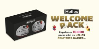 Helios regala 10.000 packs mini de mermeladas