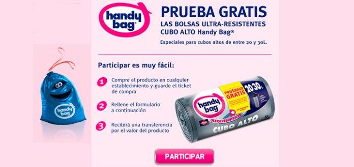 Prueba gratis las bolsas Handy Bag