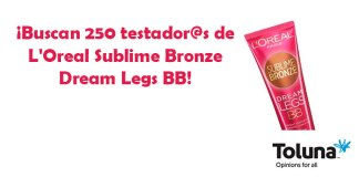 Prueba gratis L'Oreal Sublime Bronze Dream Legs BB