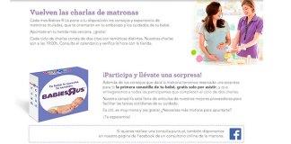 """Charlas de matronas en Otoño 17 con Toys """"R"""" Us"""