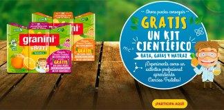 Consigue gratis un kit científico con Granini