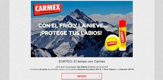 Carmex sortea 25 packs de sus productos