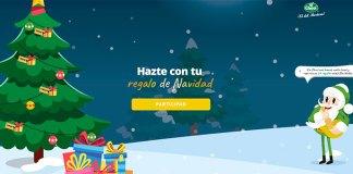 Consigue un regalo de Navidad Choví