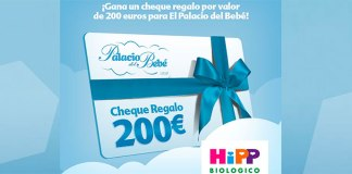 Gana un cheque regalo para El Palacio del Bebé