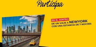 Consigue un viaje a New York con Serrano
