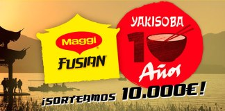Maggi Fusian sortea 10.000€
